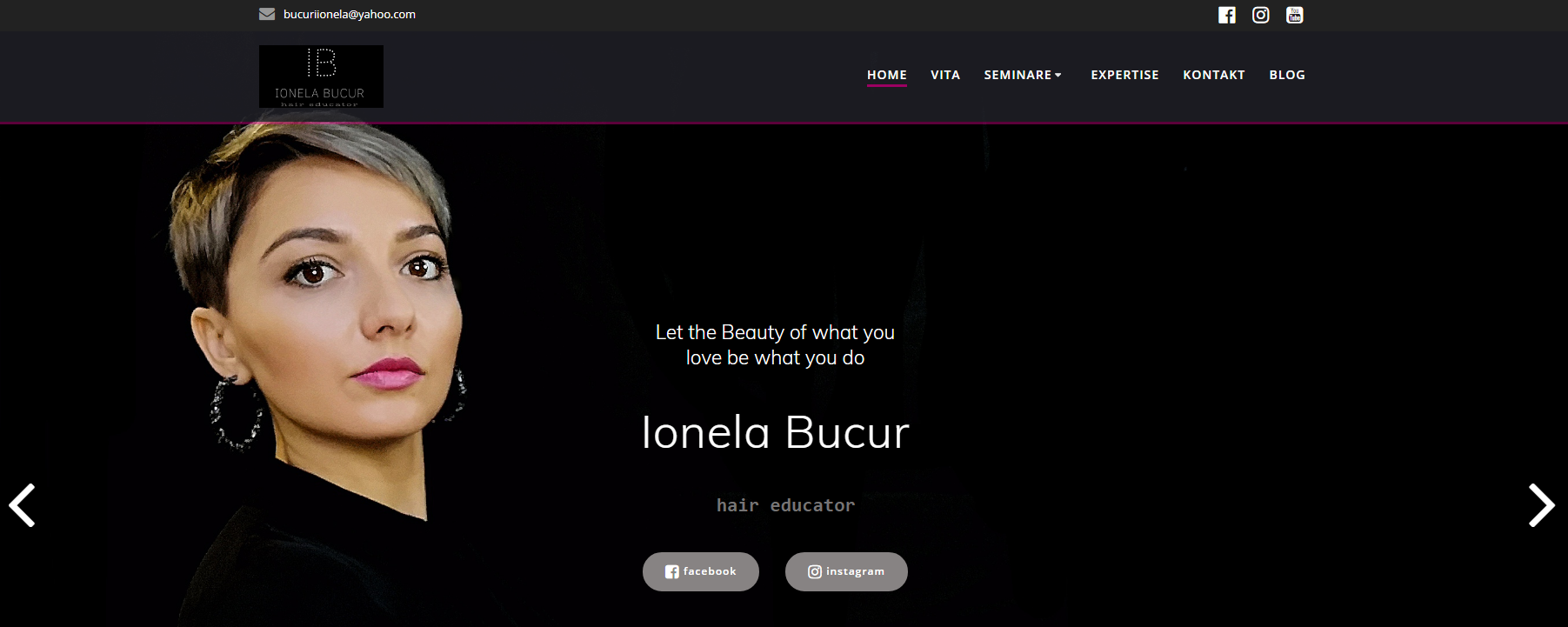 Friseur Coach - Christian Funk - Website Ionela