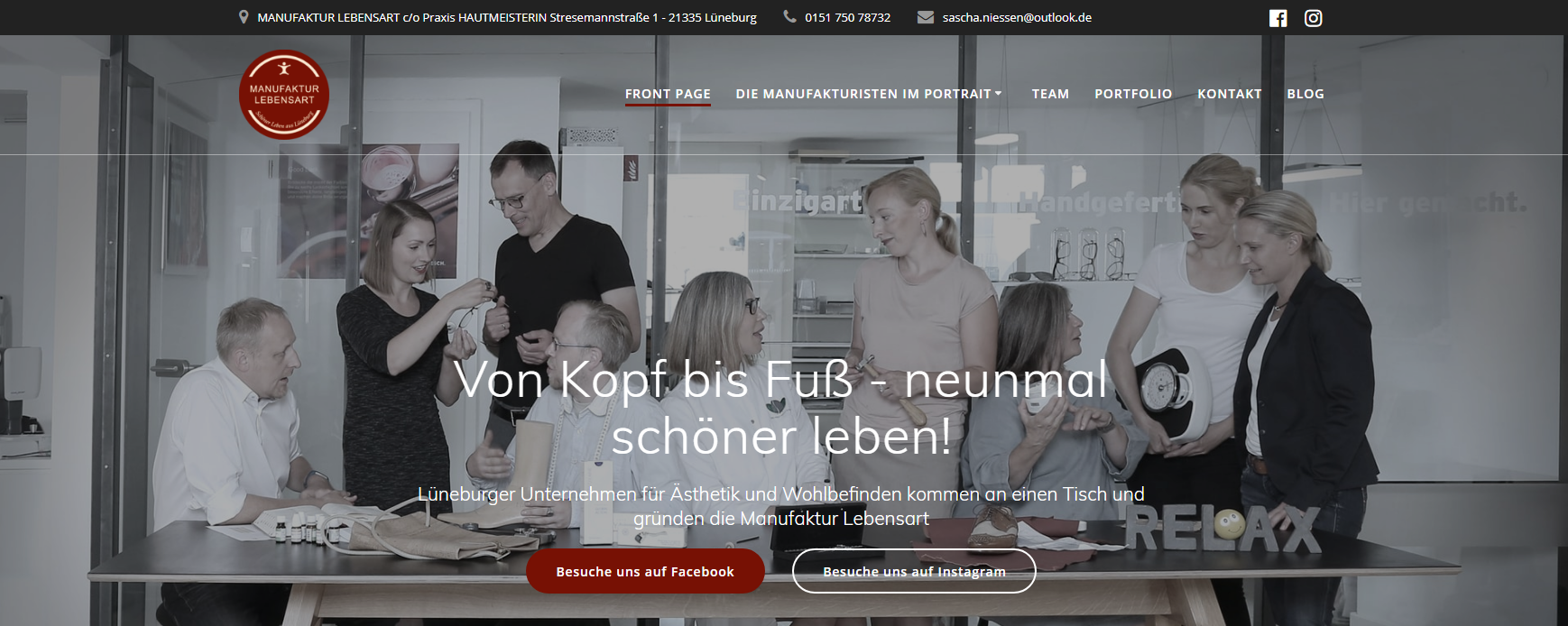 Friseur Coach - Christian Funk - Website Manufaktur