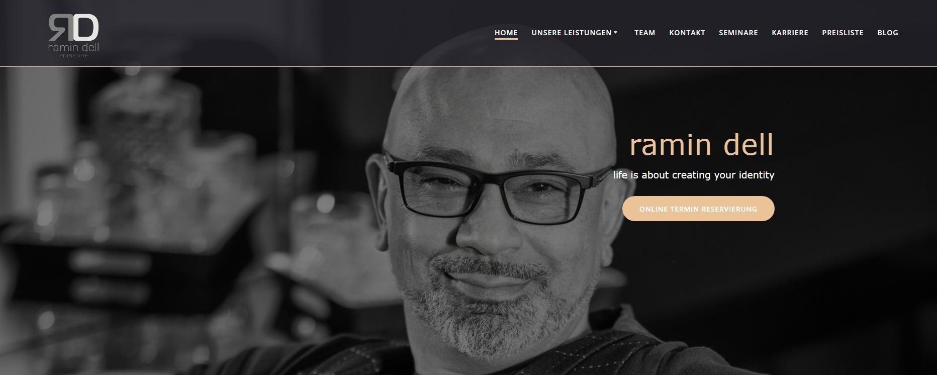 Friseur Coach - Christian Funk - Website Ramin
