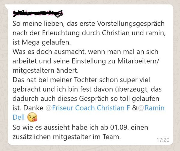 Expertisen Friseur Coach Christian Funk