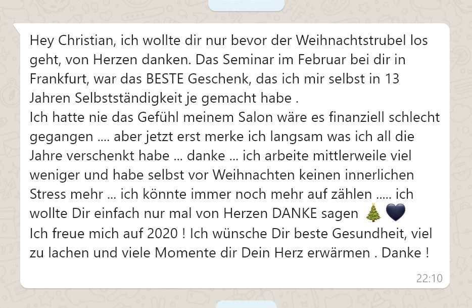 Expertisen - Christian Funk Friseur Coach